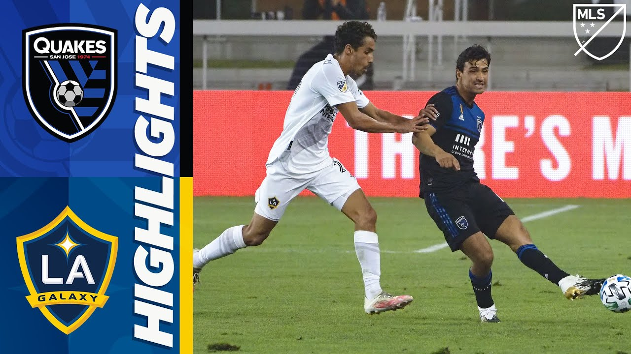 San Jose Earthquakes vs LA Galaxy | September 13, 2020 | MLS Highlights