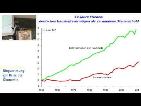 Die Finanz- und Staatsschuldenkrise (Helge Peukert) [Ringvorlesung Zur Krise der Ökonomie]