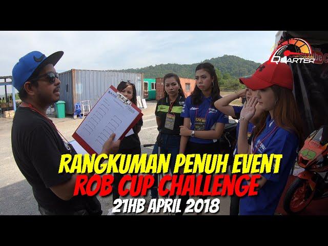 Rangkuman penuh event ROB CUP CHALLENGE 2018