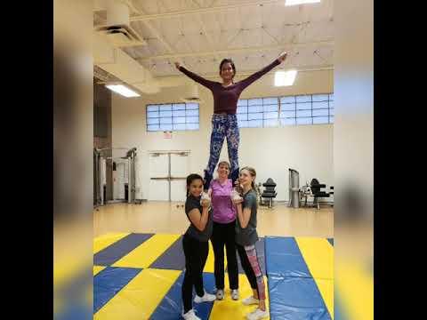 George I Sanchez Griffin Cheerleaders slideshow 2018-2019