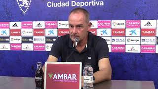 Directo: Rueda de prensa de Víctor Fernández
