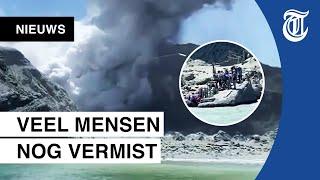 Meerdere doden door vulkaanuitbarsting Nieuw-Zeeland