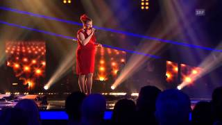 Nicole Bernegger - At Last - Finale - The Voice of Switzerland 2013