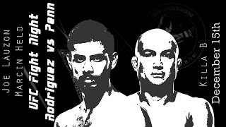 Repeat youtube video The MMA Vivisection - UFC Phoenix: Penn vs. Rodriguez picks, odds, & analysis