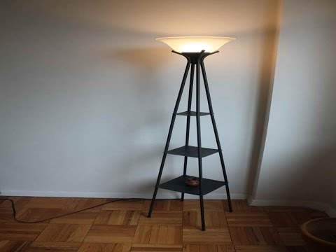 Bookshelf Floor Lamp