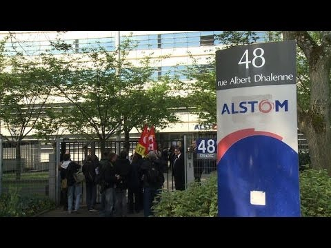 Alstom staff rally against possible group breakup