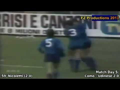 Serie A 1980/1981: Calcio Como All Goals