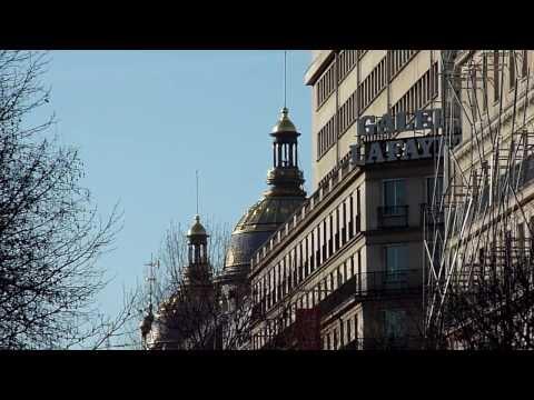 PARIS BLVD HAUSSMANN GALERIES LAFAYETTE 24.02.2014