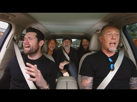 Thumbnail: Apple Music — Carpool Karaoke — Metallica and Billy Eichner Preview