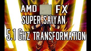 How To Overclock The AMD FX Series to 4.8 - 5.1 Ghz!