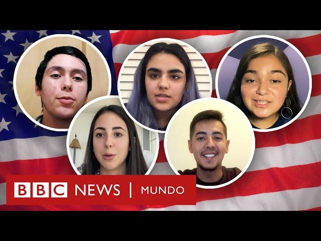 La voz de 5 latinos (muy diferentes) que votan por 1ª vez sobre las elecciones en EE.UU.