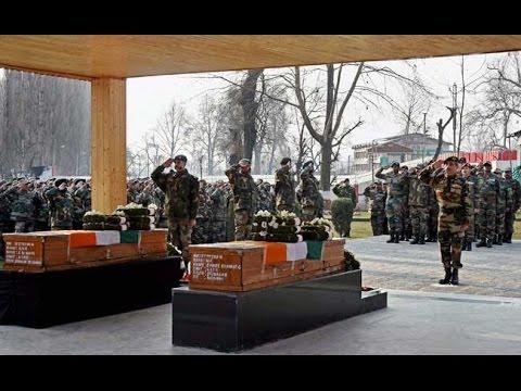 Kupwara Encounter: Indian Army Pays Tribute To Martyred Jawans