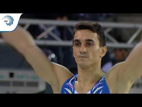 Marian DRAGULESCU (ROU) - 2017 European Championships, qualifications Vault - 동영상