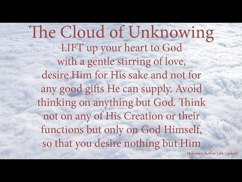 Cloud of Unknowing - The Path of the Christian Mystic by Paul Siddall