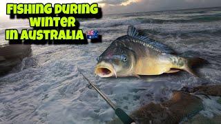 FISHING IN SUNNY COAST AUSTRALIA DURING WINTER