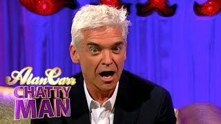 Phillip Schofield Makes Alan Drink Shots of Tequila | Full Interview | Alan Carr: Chatty Man