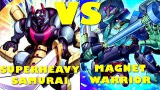 Real Life Yugioh - SUPERHEAVY SAMURAI vs MAGNET WARRIOR | November 2016 Scrub League