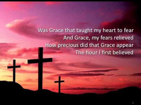 Amazing Grace ~ Celtic Thunder ~ lyric video