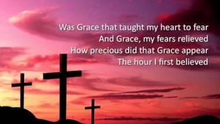 Amazing Grace ~ Celtic Thunder ~ lyric video