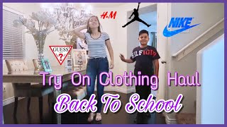 Back To School Clothing Haul 2018 ~ Teenagers