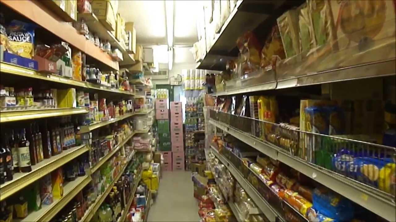 A Walk Around Inside The Indian Spice Shop In Drummond Street