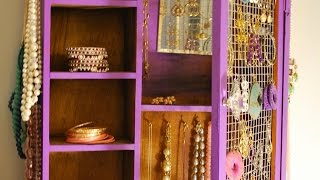 Create A Cool Upcycled Jewelry Box - Diy Home - Guidecentral