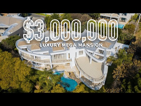 Whats Inside a $3,000,000 Johannesburg, South African Mega Mansion?