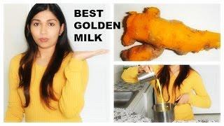 How to make GOLDEN MILK | Fresh turmeric