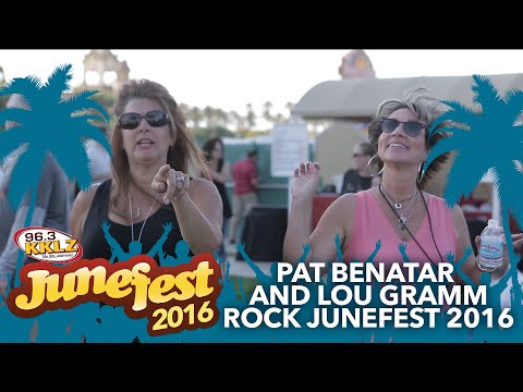 Pat Benatar and Lou Gramm Rock Junefest 2016