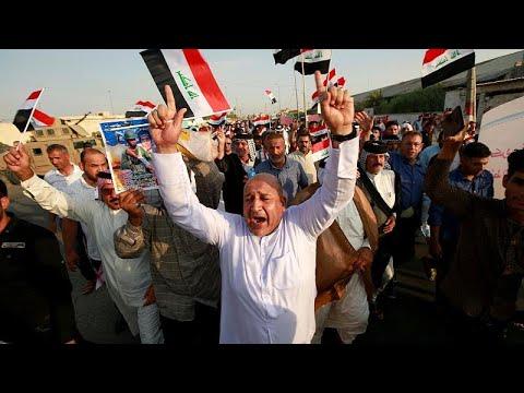 أهالي البصرة يرفعون شعار -لن نرضخ- للاحتجاج على البطالة والفساد…  - 13:54-2019 / 7 / 20