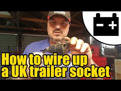 #1948 - How to wire up a UK trailer lighting socket