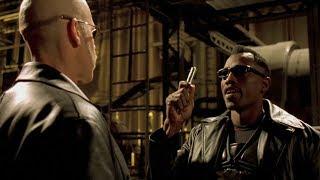 """Блэйд показал кто здесь папочка -  """"Блэйд 2"""" отрывок из фильма"""