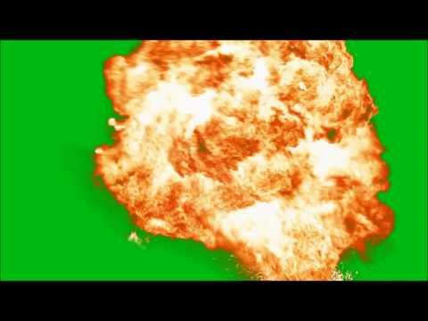 Pre-Keyed Explosion Effect by Video Tech How To