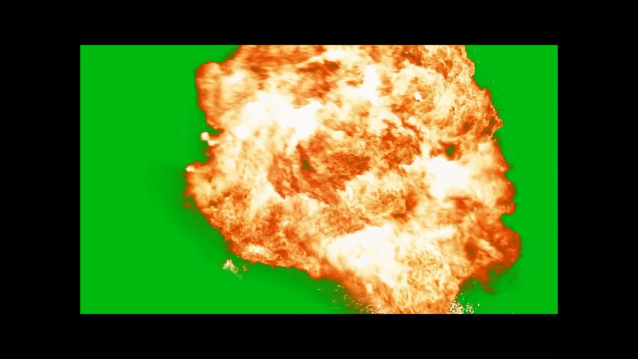 Pre Keyed and Green Screen Effects | EXPLOSIONS! | DOWNLOAD BELOW!