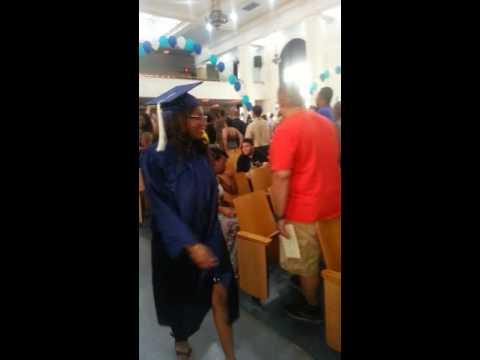June 23 2016 Bronx Aerospace high school commencem