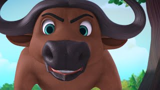 The Buffalo and the Monkey | Moral Stories for Children | Infobells