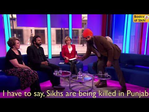 Jagmeet Singh Live BBC Protest #SikhLivesMatter #bbcsml Full Segment