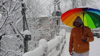 Heavy Snow falling, Murree 12/2/2016