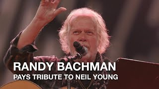 Randy Bachman pays tribute to Neil Young | 2017 Canadian Songwriters Hall Of Fame