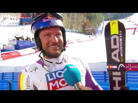 Interview with Aksel Lund Svindal - Super G -Vail / Beaver C