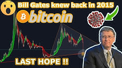 OMG!! BILL GATES PREDICTED THIS BACK IN 2015.!!!  BITCOIN WORST PRISE DROP!!!
