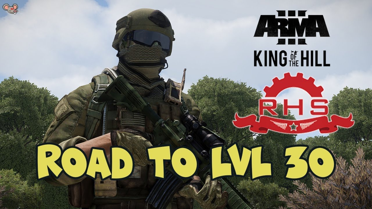 Road to Lvl 30 - KOTH RHS - M4A1 PIP gameplay -ArmA 3 kill/moments montage  #5 by RedEye Mouse