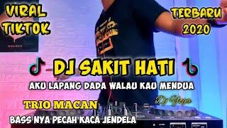Download AKU LAPANG DADA WALAU KAU MENDUA VIRAL TIK TOK 2020 | DJ SAKIT HATI TRIO MACAN FULL BASS