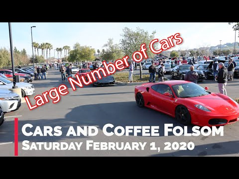 Cars And Coffee Folsom - 2/1/2020 - Huge Turnout