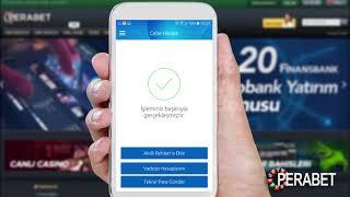 YapıKredi mobil cepbank ile Perabet'e nasıl para yatırılır?