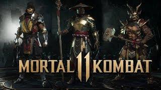 MORTAL KOMBAT 11 - Raiden, Scorpion, Shao Kahn Renders