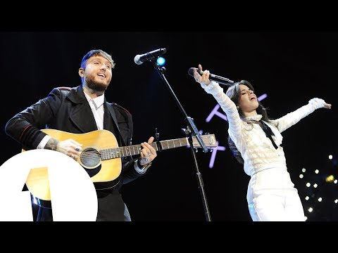 Camila Cabello and James Arthur  Say You Wont Let Go Radio 1s Teen Awards 2017