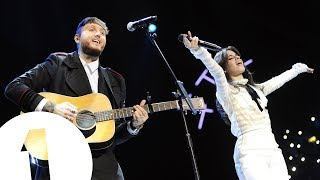 Camila Cabello and James Arthur - Say You Won't Let Go (Radio 1's Teen Awards 2017)