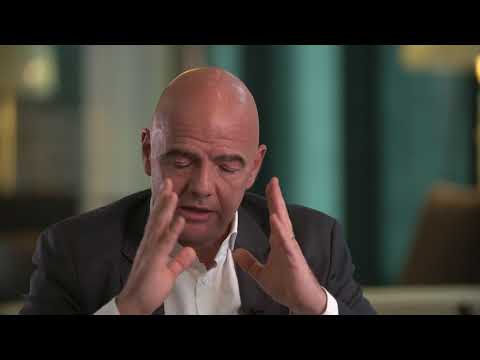 Gianni Infantino about 2018 FIFA World Cup