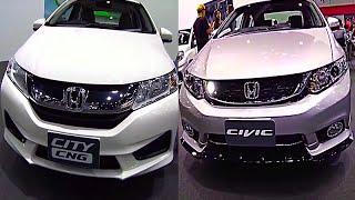 Honda Civic 2015, 2016 VS Honda City 2015, 2016